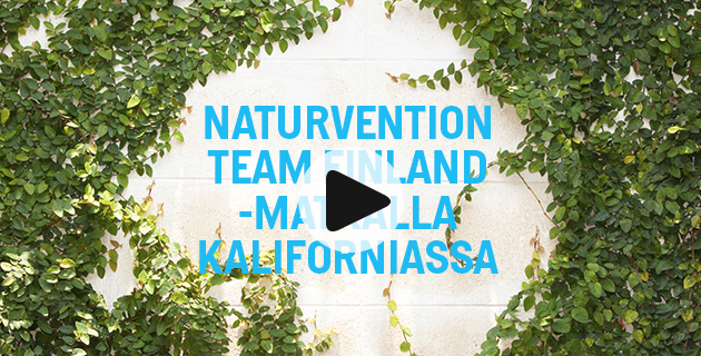 NaturVention Team Finland -matkalla