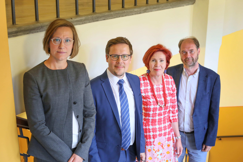 Team Finland Knowledge asiantuntijoita. Kuvaaja: Katarina Koch / OKM
